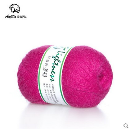 Free shipping 300g(50g*6pcs) Angora Anti-Pilling Low Shrinkage Thin Yarn For Hand Knitti ...