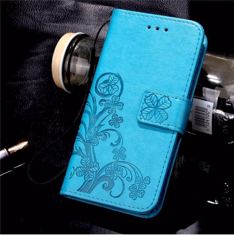 Cztery Liść Koniczyny Skrzynka dla Huawei P9 Okładka Huawei P9 Lite odwróć Wallet Case dla Huawei Hoesjes P9 Plus Telefon Coque PU skóra 12