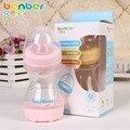 Dobrado Garrafa de Leite do bebê de Boca Larga 150 ml Garrafa de Água Garrafas de Treinamento Infantil Do Bebê Recém-nascido PP Silicone Nuk Infantil Produto