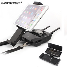 Easttowest Storage Box Design 4.7-12.9 inch Smartphone Tablet Holder Adjustable Bracket Foldable Support for DJI Mavic Pro