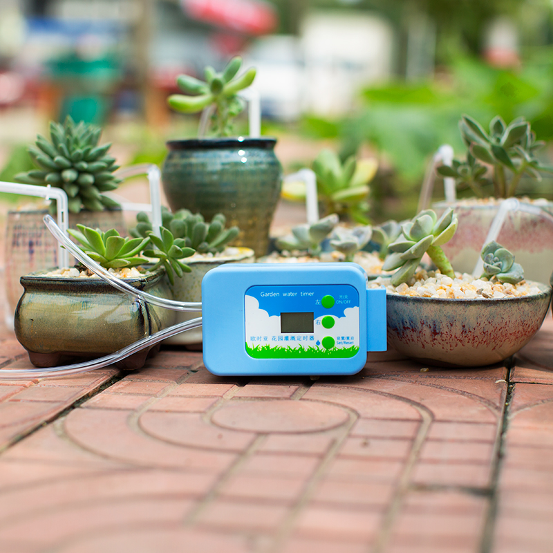Automatic Drip Irrigation System Pump Controller Watering Kits with Built in High Quality Membrane Pump Used Automatic Drip Irrigation System Pump Controller Watering Kits with Built-in High Quality Membrane Pump Used Indoor