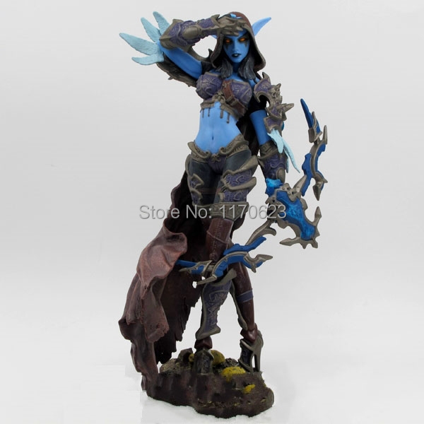 Game Figures Forsaken Queen: Sylvanas Windrunner Action Figure Collectible Toy playmobil brinquedos pet shop juguetes kids toys game figure 10cm darius the hand of noxus pvc action figure kids model toys collectible games cartoon juguetes brinquedos hot