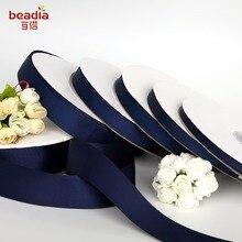7-38 мм ширина темно-синяя лента корсажная лента весь рулон упаковка 100 Yrads для ювелирных изделий ручной работы сделай сам бант для волос и Швейные аксессуары