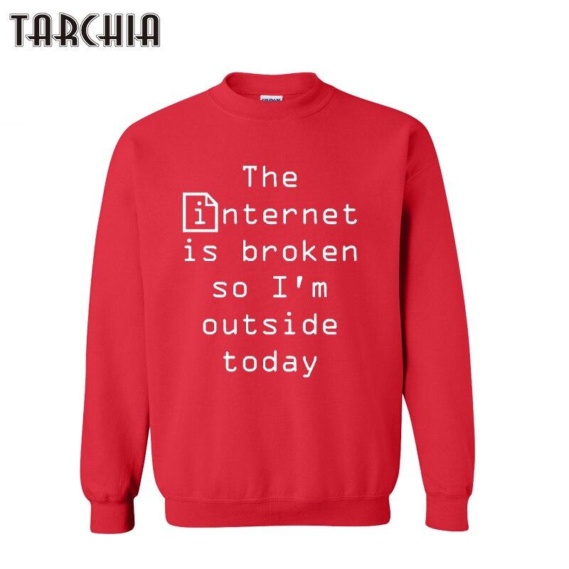 TARCHIA winter pullover hoodies sweatshirt internet broken personalized Pirates Breaking men casual parental survetement homme