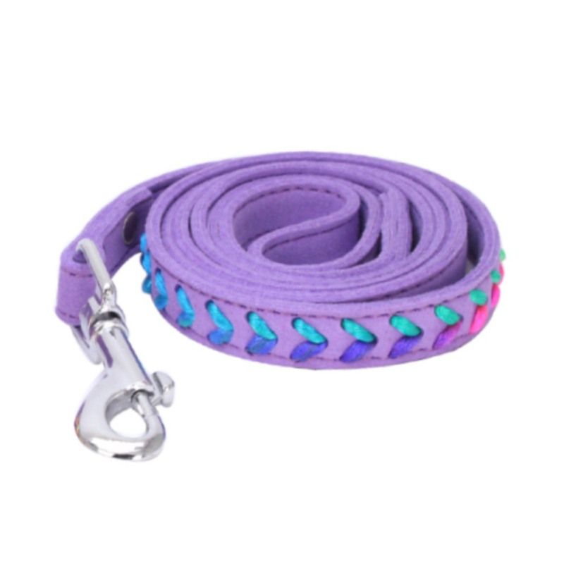 Cat Puppy Dogs Leash Long Smooth Leashes Walker Dog Leashes Solid Color ...