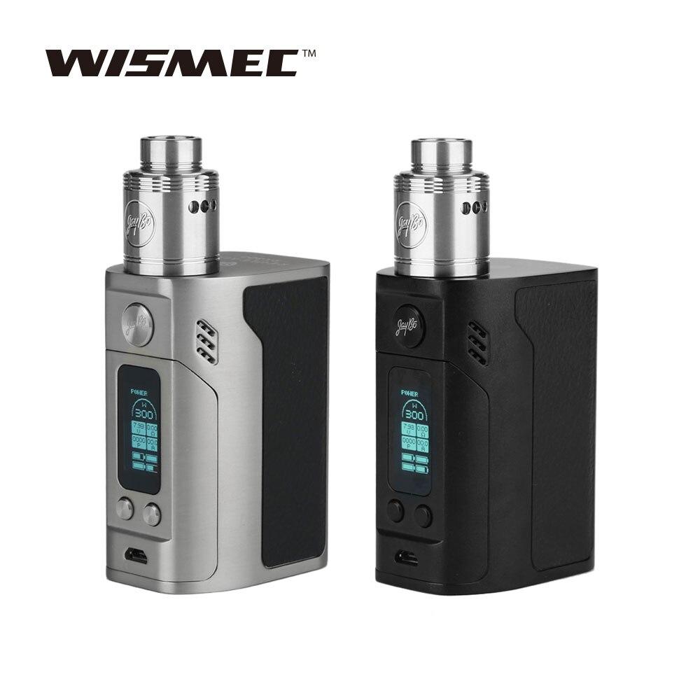 WISMEC Reuleaux RX300 Mod 300 W avec Neutrons RDA Atomiseur Réservoir Vaping Kit Alimenté Sans 18650 Batterie E-cigarette Kit De Pulvérisation