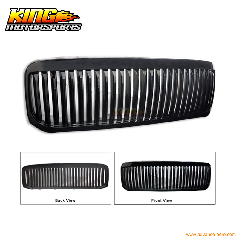 For 99-04 Ford F250 F350 Excursion Vertical Grille Black USA Domestic Free Shipping Hot Selling for 04 10 nissan titan armada fog lights clear light lamps passenger driver usa domestic free shipping hot selling