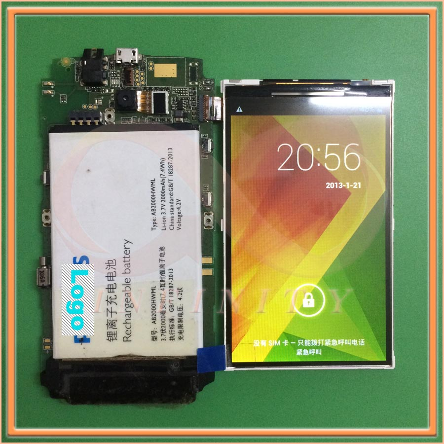In Stock 100% Tested NEW Original 4 inch For Philips xenium w3568 CTW3568 LCD Screen Dispaly Repair Replacement