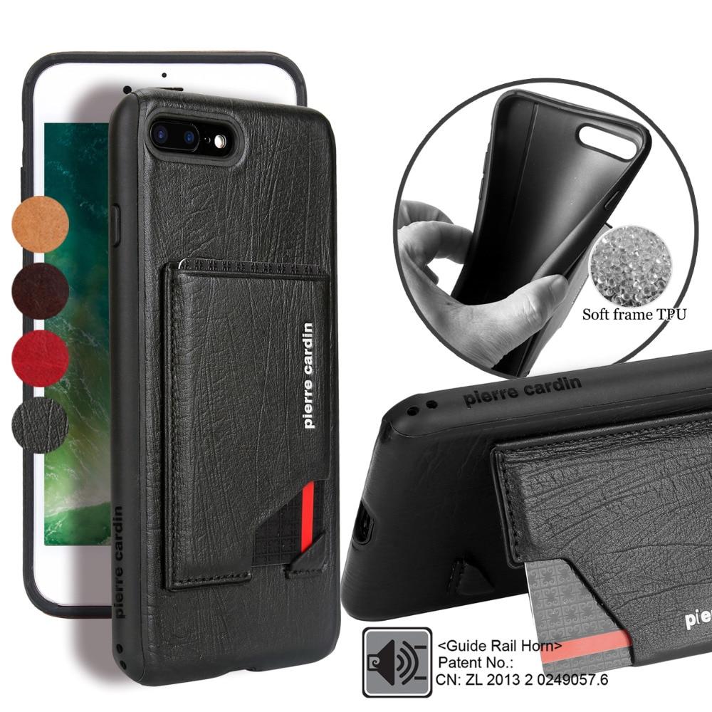 Para Apple iPhone 7 7 Plus Estuche para teléfono Pierre Cardin - Accesorios y repuestos para celulares - foto 2
