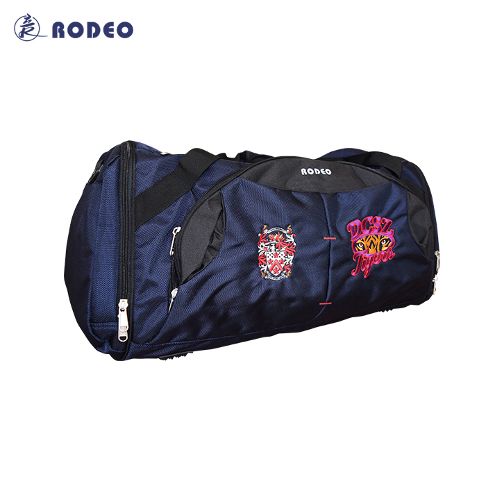 BG009 Rodeo Sport, formation, remise en forme, Football, volley-ball Sac Personnalisé Conception pleine taille OEM logos, nom nombre