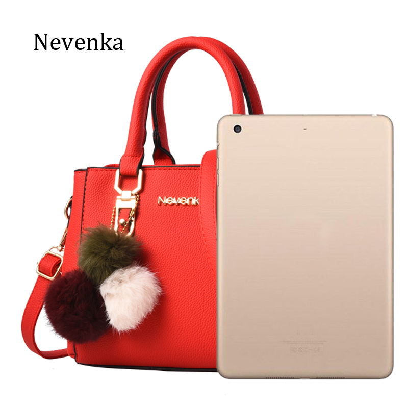 f0a956b921e7 Nevenka Women Bag Pu Leather Tote Brand Name Bag Ladies Handbag Lady  Evening Bags Solid Female Messenger Bags Travel Fashion Sac wholesale sac  brand sac ...