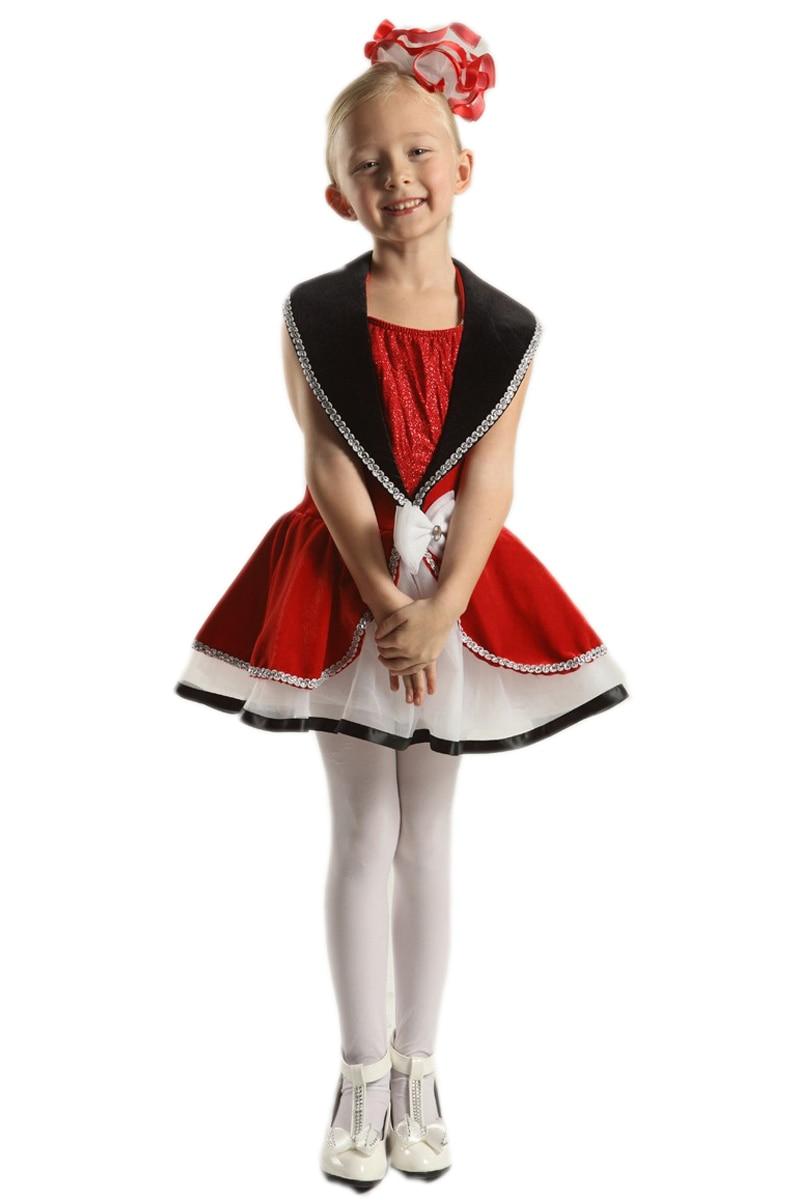 Novo Inverno de Veludo Vermelho Profissional Tutu Vestido de Ballet Para Crianças Meninas Mulheres Danse Classique Adulte Trajes Dancewear Crianças Em