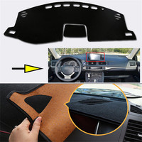 Interior Dashboard Carpet Photophobism Protective Pad Mat For Lexus CT200H