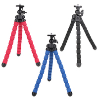 Grande treppiede universale flessibile monopiede fotocamera digitale DV treppiede supporto polpo per fotocamere Nikon/ Canon/ Sony/Olympus