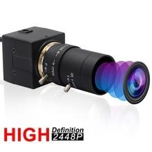 CCTV 5-50 мм варифокальный объектив 8 Мп высокой четкости SONY (1/3. 2 ») IMX179 Супер Мини HD 8MP промышленная камера USB