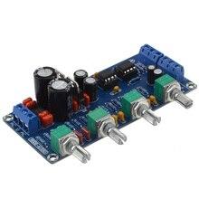 NE5532 Preamp Stereo HIFI NE5532 Tone Board Preamplifier Free Shipping 12000397