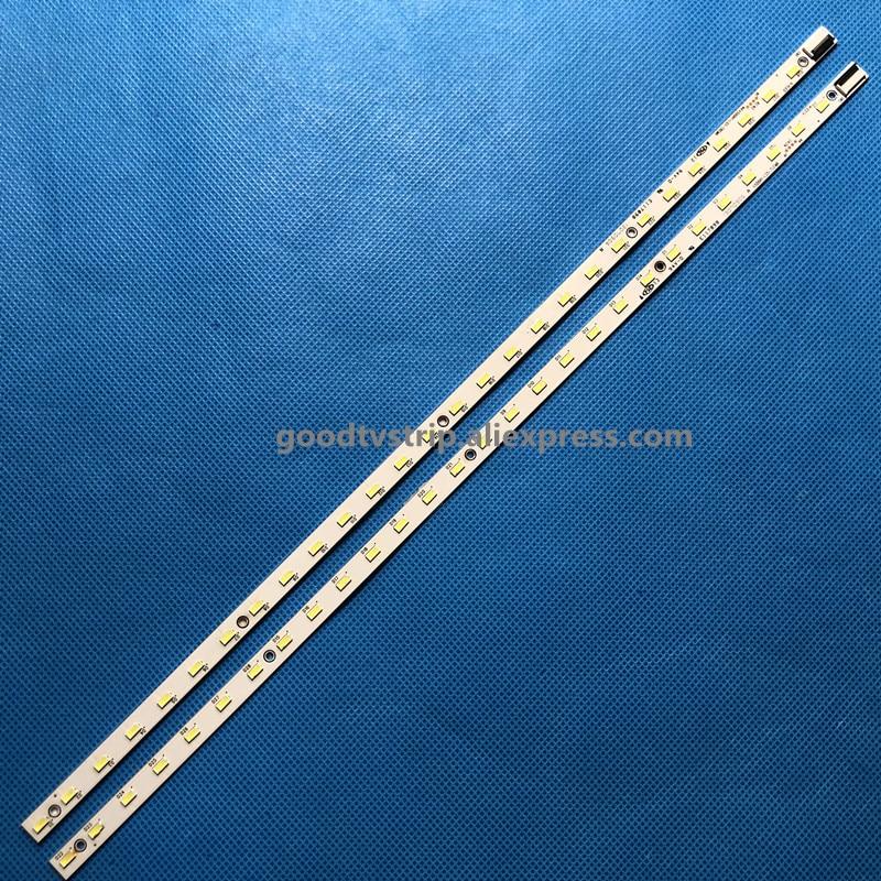 Image 5 - 2 PCS LED strip V500H1 LS5 TLEM6 TLEM4 TREM6 TREM4 E117098 28 LEDs 315mm for LE50D8800 V500HJ1 LE1,used part-in LED Bar Lights from Lights & Lighting