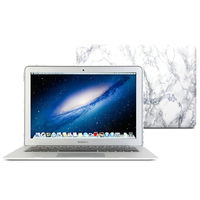 GOOYIYO-2017 Hot Sprzedaż Biały Marmur Skórki Laptop Ciężka Plastikowa Skrzynka PC Shell dla Apple Macbook Air 13 11 Pro13 15 Retina13 15 12