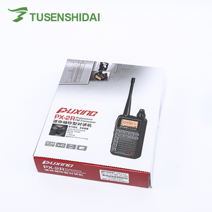 Image 5 - Hot Sell 2W Mini Walkie Talkie UHF 400 470 PUXING PX 2R Dual Band RX with USB Charging Function