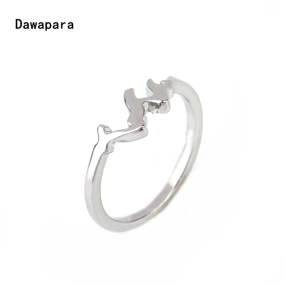 Dawapara simple ring for girls with crown wedding rings set for ...