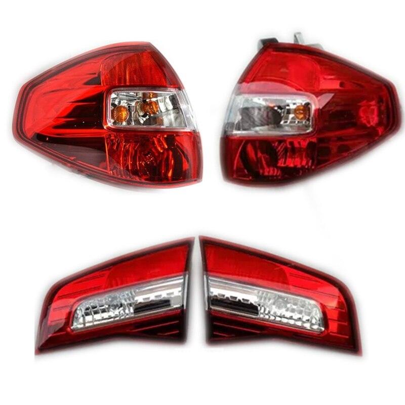1pcs Car Light Assembly For Renault Koleos  09-16 Car-Styling Rear Left Right Tail Light Lamp Reversing light brake light Mitsubishi Pajero