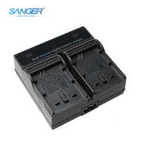SANGER Dual Channel Quick Digital Battery Charger for Sony NP-FW50 Battery Fit Alpha NEX F3 6 5N 5R 5T 3N C3/5 7 SLT A33 A37 A55