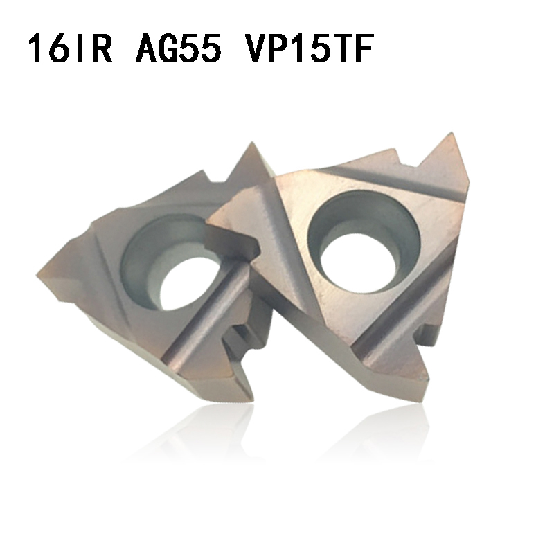 MMT 16IR AG55 VP15TF Carbide Inserts Thread Turning Tool Cutting Tool Lathe Tools Milling Cutter CNC Tool 16IRAG55