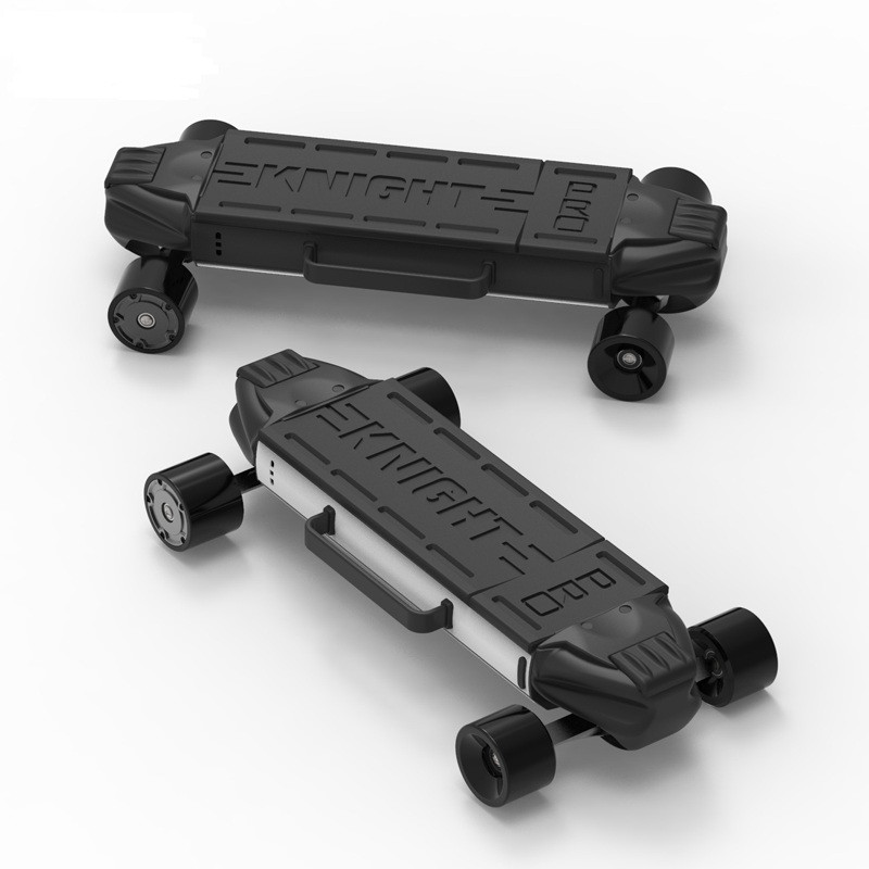 zetazs knight pro e skateboard dual motor electric scooter. Black Bedroom Furniture Sets. Home Design Ideas