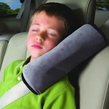 Детский ремень для сиденья с подушкой на плечо защитный ремень из ткани фиксатор детские автомобильные ремни безопасности