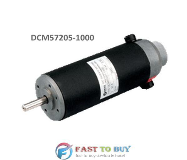 Leadshine Brushed DC Servo Motor DCM57205-1000 24VDC 80W 3400 rpm Single-ended 1000-Line Encoder Flange Mounted New printer machine dc servo motor driver mcdc505 dc servo drive can instead of leadshine db810 servo driver