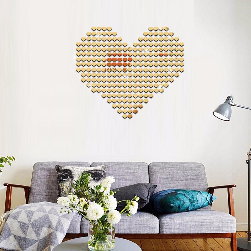 Mirrored Decorative Wall Sticker 5