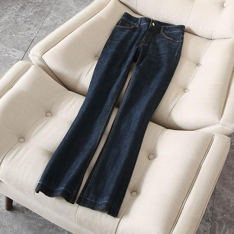 Femmes Livraison Office Lady Dame Gratuite 2018 Arrivée Jeans Design Hiver Top Hmr18802dec2 Pantalon Nouvelle HwnRz