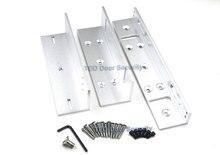 シングルドア Z & L マウントブラケットクランプ LZ ステント 280 キログラム 600lbs 力磁気ロックドアオフィス RFID ロック