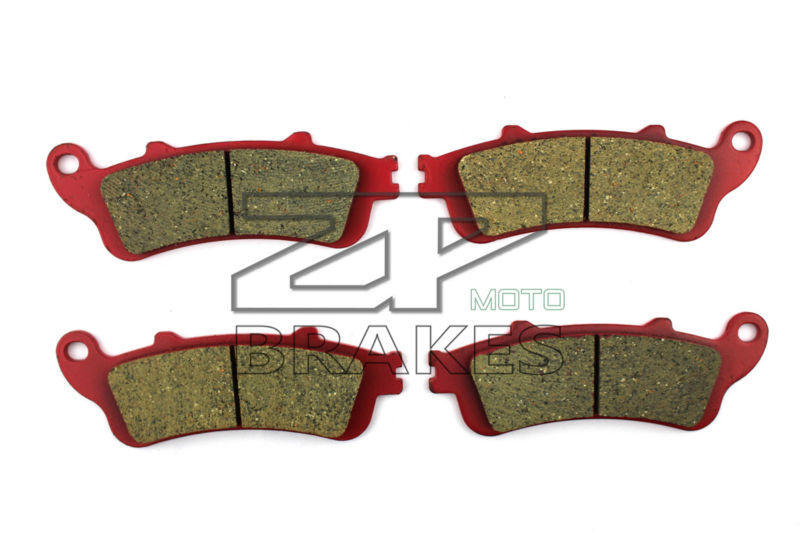 Motorcycle Brake Pads For HONDA 1300/ST ST A2-8/2-6 (ABS) Pan european 2002-2007 F + R New Ceramic Composite High Quality ZPMOTO motorcycle brake pads ceramic composite for honda 400 vfr rh2 rj 1987 1988 front rear oem new high quality zpmoto