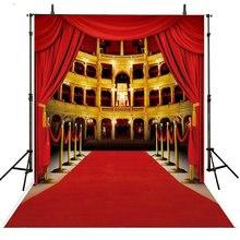 Cortinas de ouro vip tapete vermelho Fundo de Vinil pano de Alta qualidade de impressão Computador pano de fundo da parede