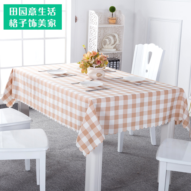 Hot Sale Tablecloth Lattice Fashion Tablecloths For Wedding Living Room Fabric Plaid Table Cloth Rectangle Tableclo