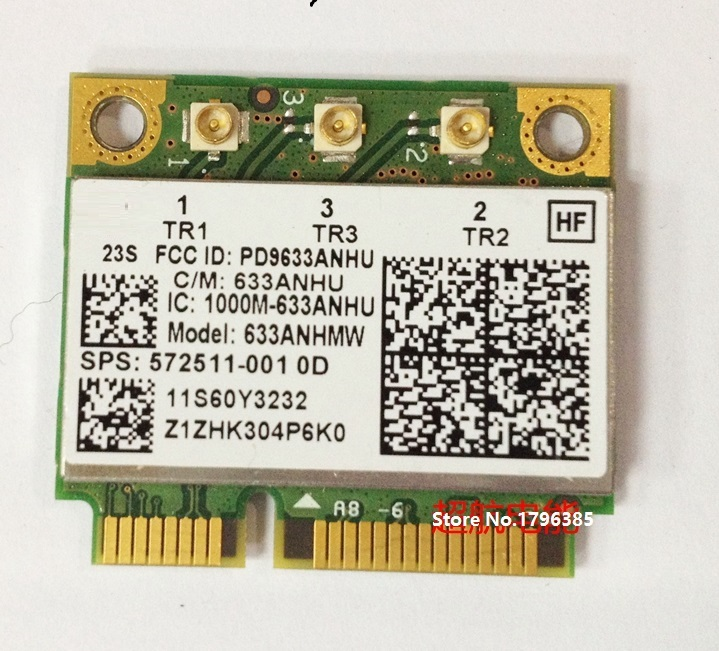 SSEA For Intel Ultimate N 6300 AGN 633ANHMW Wireless N Wifi Card Lenovo Thinkpad T420i T420S