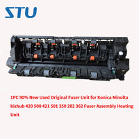 1PC 90% New Used Original Fuser Unit for Konica Minolta bizhub 420 500 421 501 350 282 362 Fuser Assembly Heating Unit