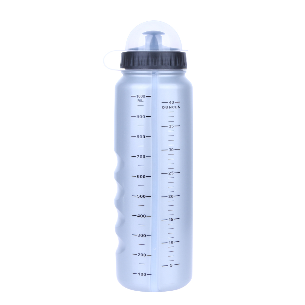 Eco-Friendly Anti-Dust Cycling Hiking Outdoor Water Bottle Lightweight 1000ML Mountain Bike Bicycle Polyethylene Water Bottle