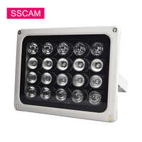 AC 220 V Infrarot Füllen Led Licht 20 Pcs Array 90 Grad IR Illuminatoring Lampe Led für Home Security CCTV kamera System zu Abend