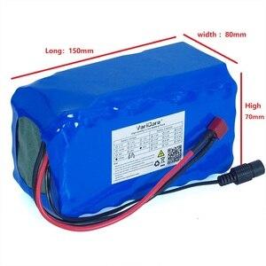 Image 2 - Batería de ion de litio de 60V, 16S2P, 6Ah, 18650 V, 67,2 mAh, para bicicleta eléctrica, patinete con descarga de 20A, BMS, 6000 vatios