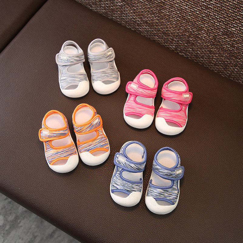2018 Summer Infant Shoes Baby Girls Boys Toddler Shoes Soft Bottom Infant Collision Avoidance Child Kids Non-slip Shoes