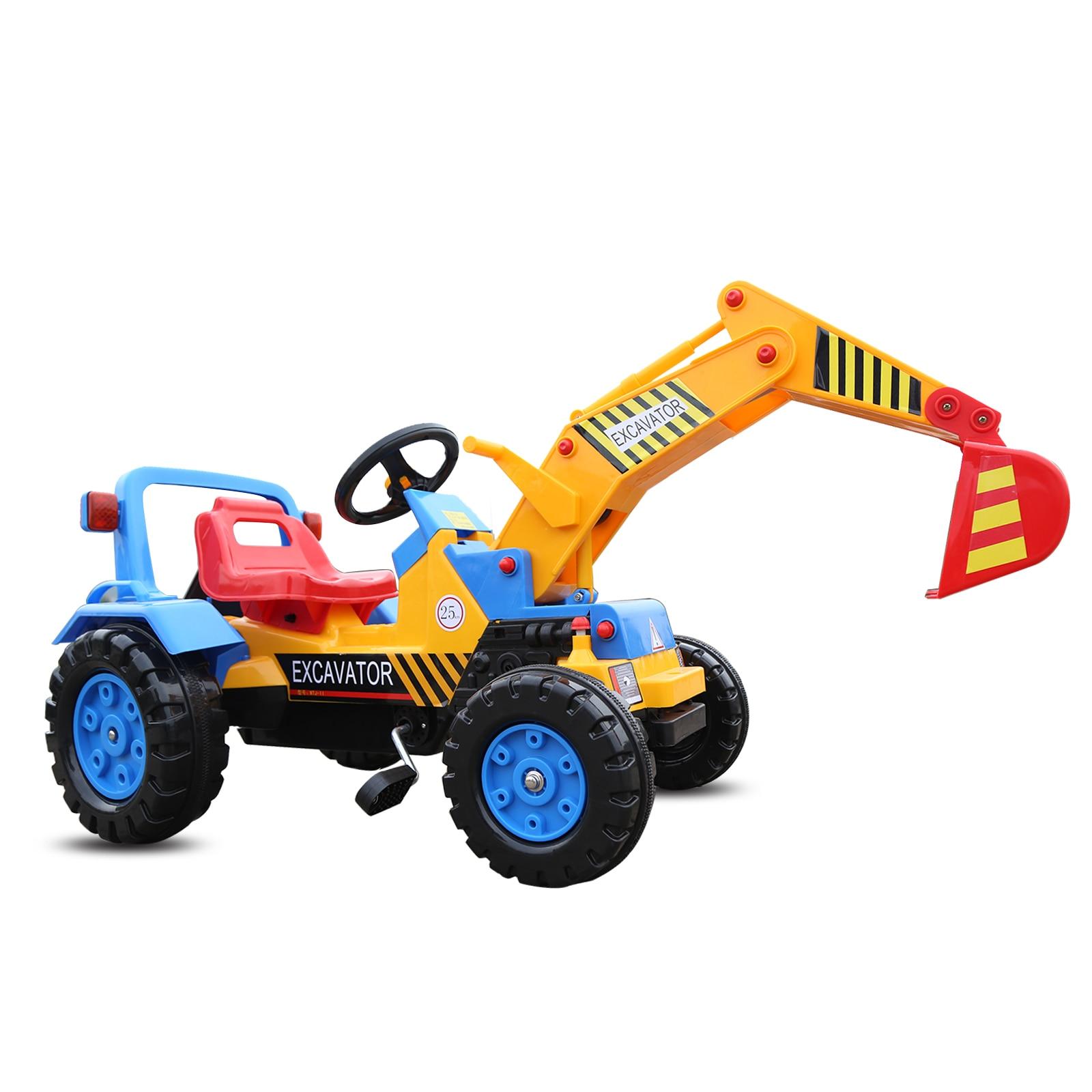 Los Ninos Grandes Bulldozer Puede Montar Excavadora Electrica