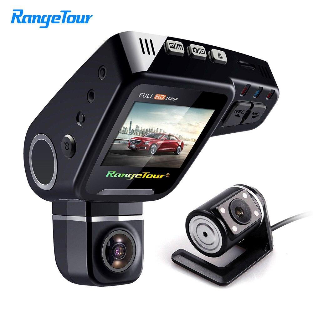 Range Tour C10s Mini Car DVR Camera HD 1080P 360 Degree Rotated Dash Cam Dual lens Video Recroder Camcorder G-Sensor 360 degree mini suction cup holder w clip car charger for motorola moto g black