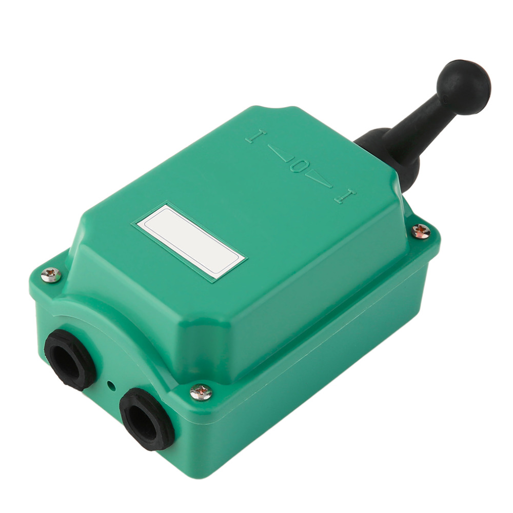 ICOCO 60 Amp Drum Switch Forward/Off/Reverse Motor Control Rain Proof Reversing 60A D 60a double breakpoint contacts forward reversing switch