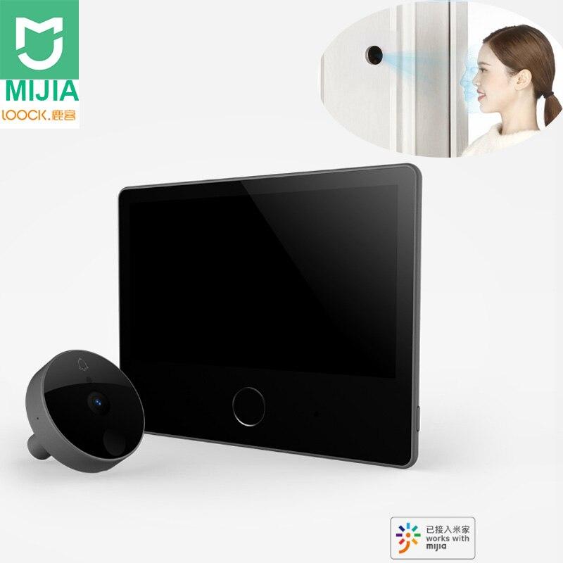 Xiaomi Mijia Luke Smart Door Video doorbell Cat Eye Youth Edition CatY Gray Mijia App Control