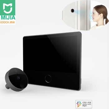 Xiaomi Mijia Luke Smart Door Video doorbell Cat Eye Youth Edition CatY Gray Mijia App Control Rechargable IPS Display Wide Angle - Category 🛒 Consumer Electronics
