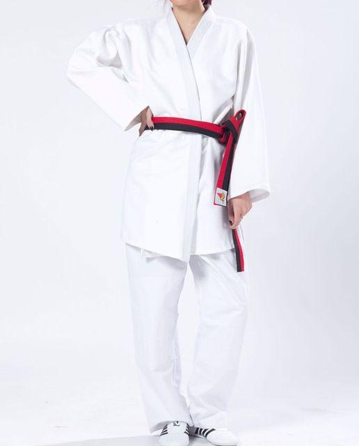 61649b9a4c366 UNISEXE top qualité norme internationale Épaissir coton judo uniformes  combats d arts martiaux vêtements ensembles