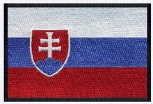 3 wide Slovakia embroidery flag patch free shipping all kids clothing and accessories/patch badge/little