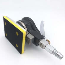 Square pneumatic grinding machine grinding machine polishing 70 * 100 square pad sandpaper grinding machine pneumatic tools 120w double wheel grinding machine grinding tools polishing machine grinding machine mult use heavy duty power tool